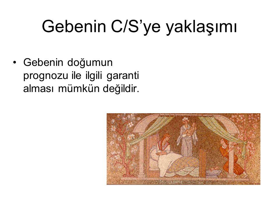 Gebenin C/S'ye yaklaşımı