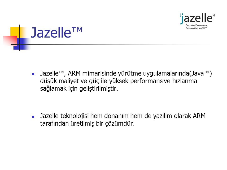 Jazelle™