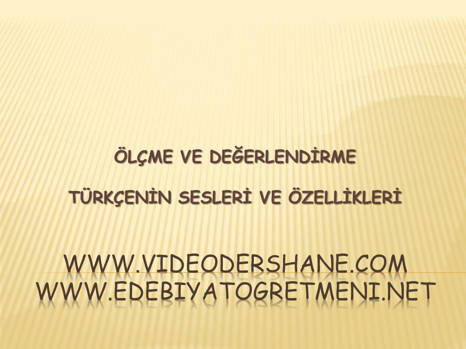 www.videodershane.com www.edebiyatogretmeni.net