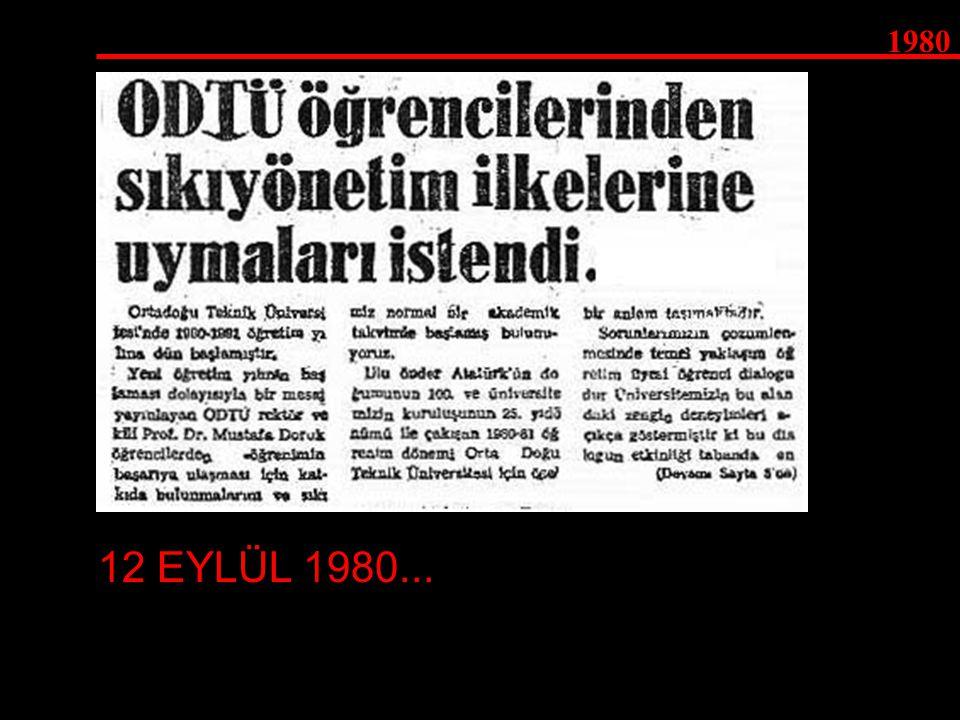 1980 12 EYLÜL 1980...