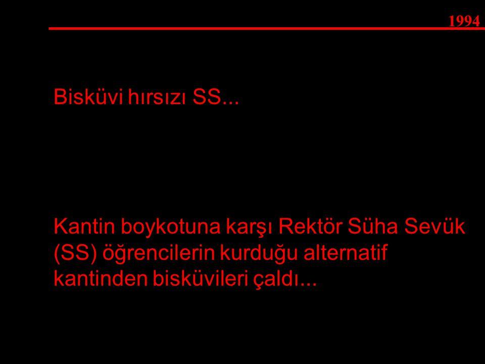 1994 Bisküvi hırsızı SS...