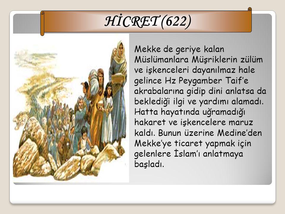 HİCRET (622)