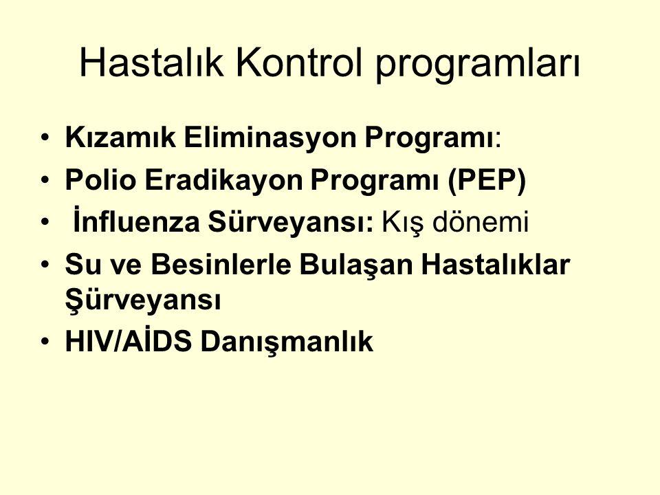 Hastalık Kontrol programları
