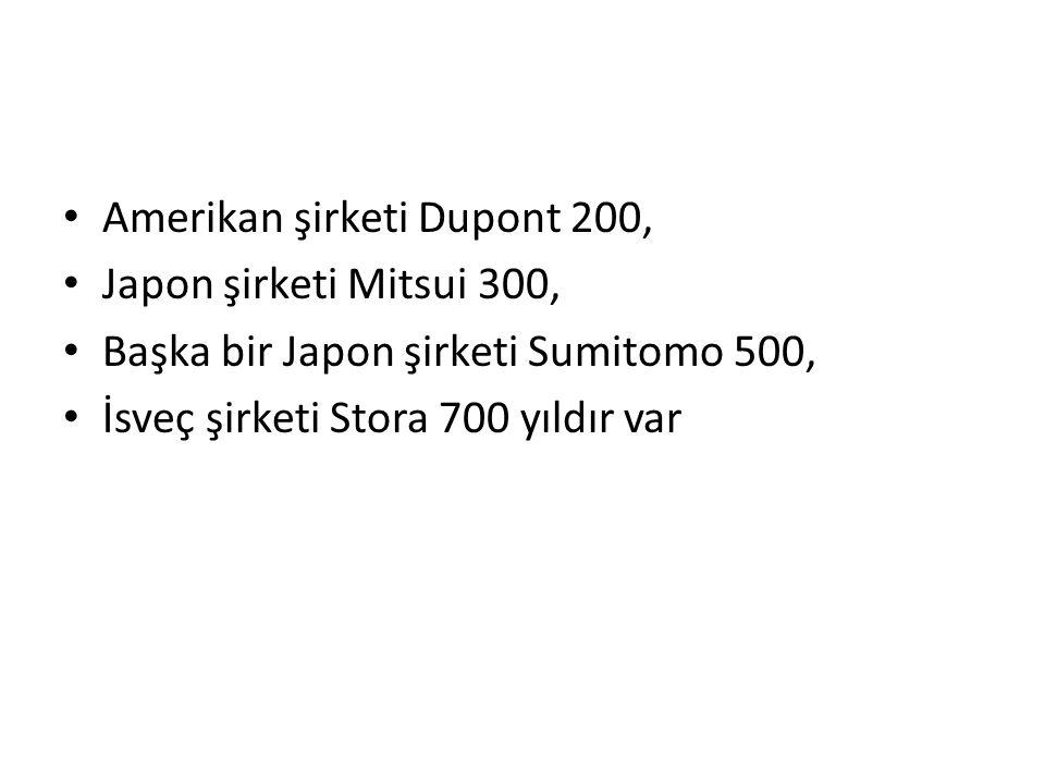 Amerikan şirketi Dupont 200,