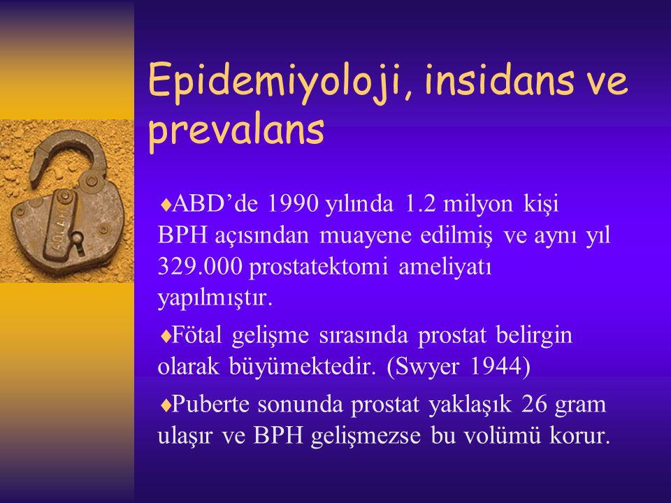 Epidemiyoloji, insidans ve prevalans