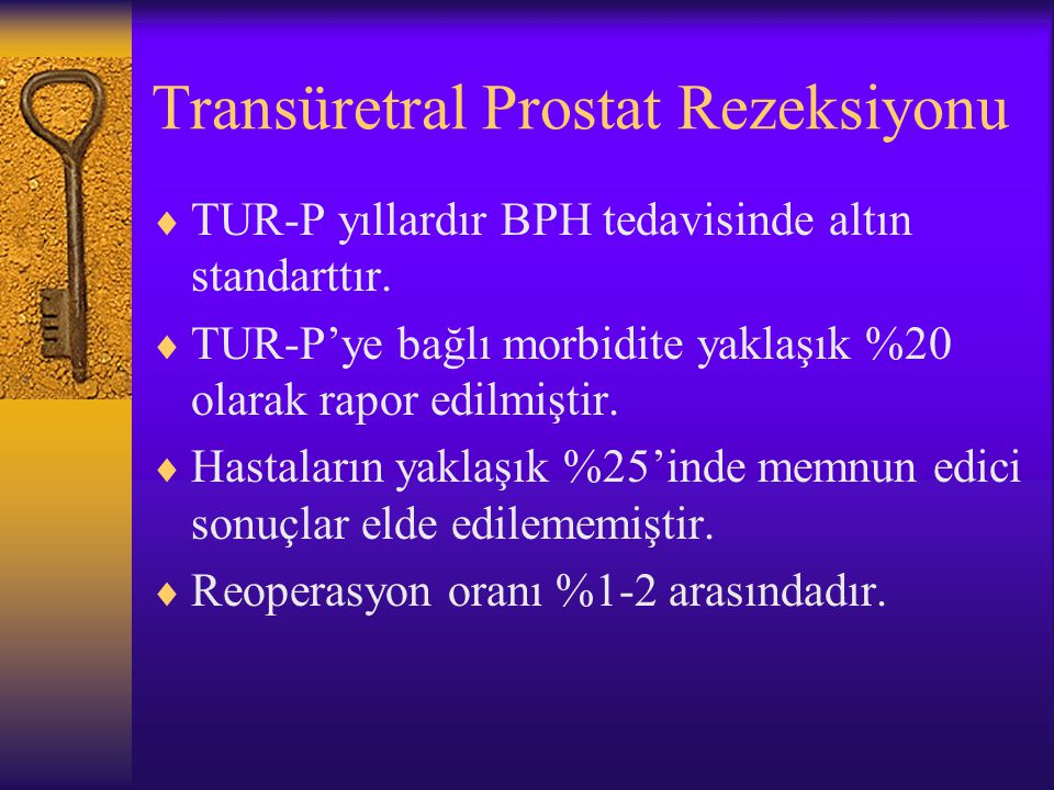 Transüretral Prostat Rezeksiyonu