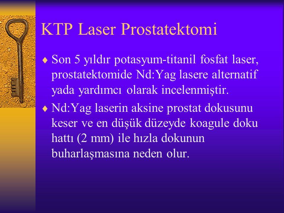KTP Laser Prostatektomi