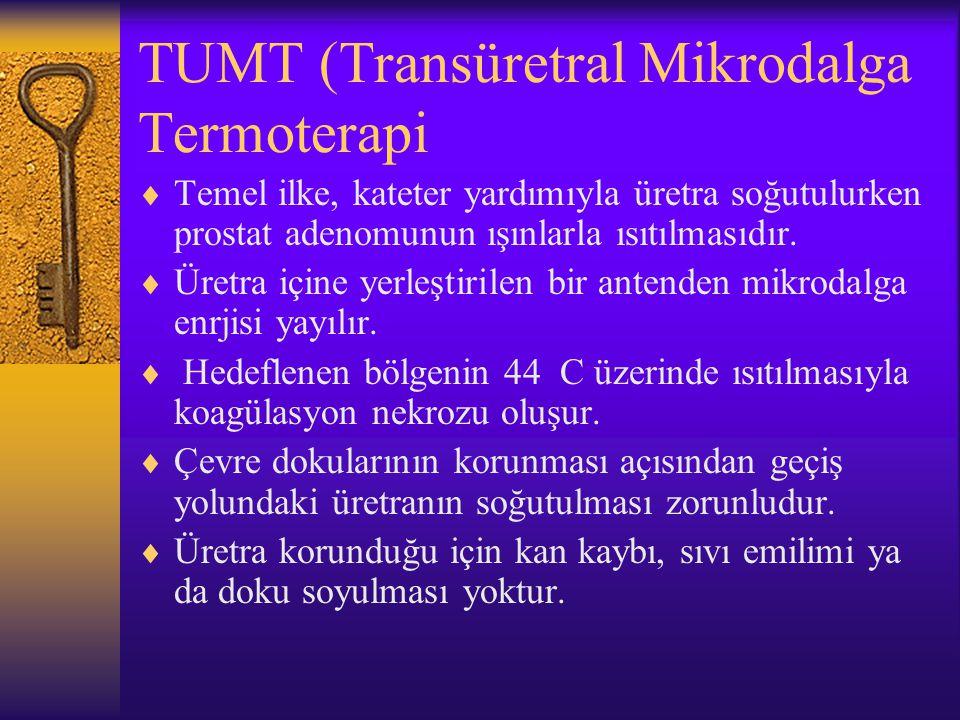 TUMT (Transüretral Mikrodalga Termoterapi