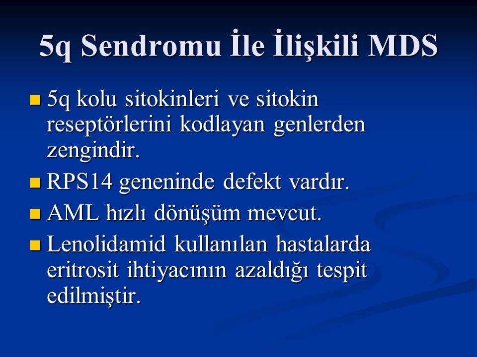 5q Sendromu İle İlişkili MDS