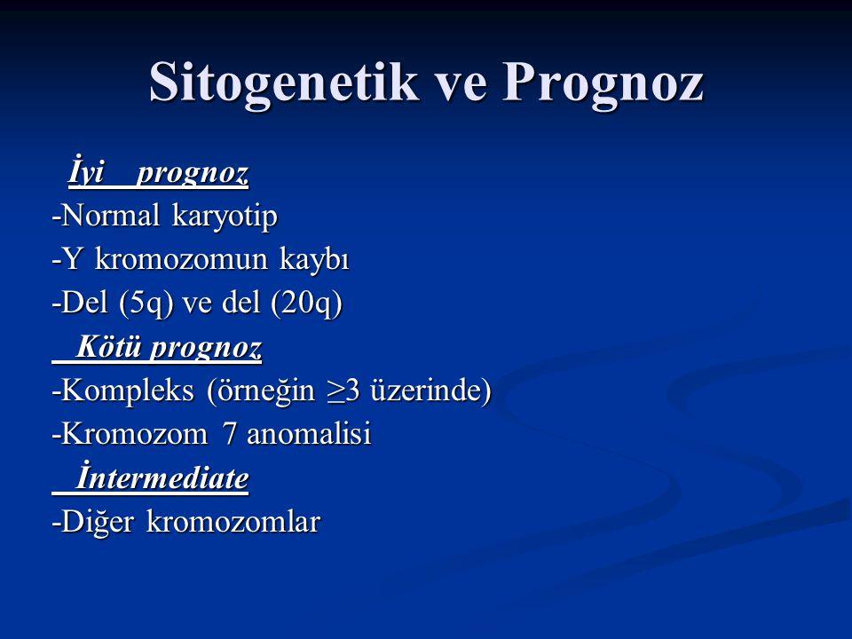 Sitogenetik ve Prognoz