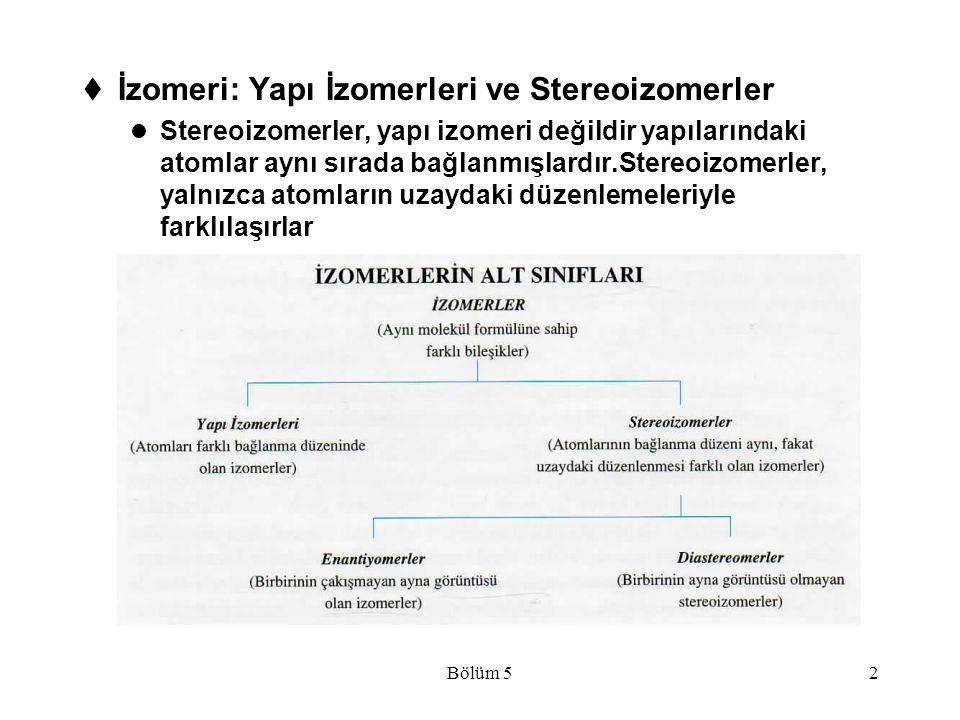 İzomeri: Yapı İzomerleri ve Stereoizomerler
