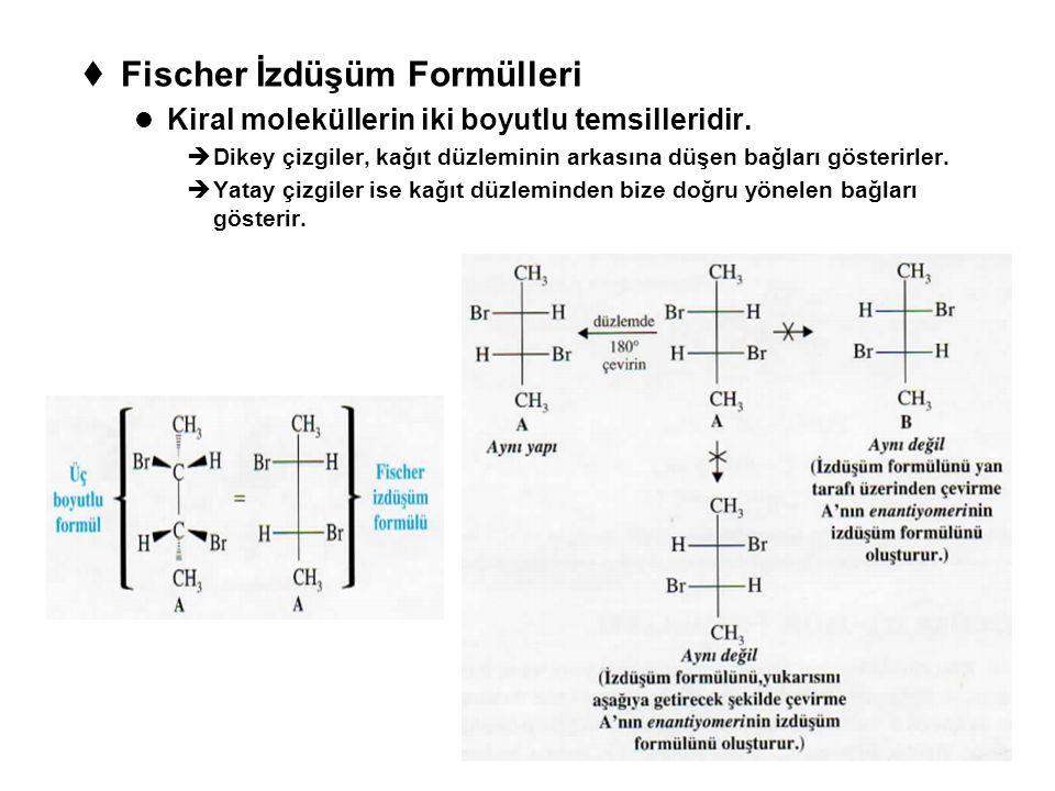 Fischer İzdüşüm Formülleri