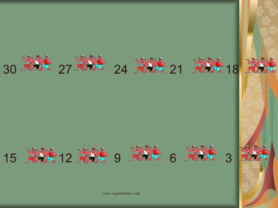 30 27 24 21 18 15 12 9 6 3 www.ogretmenevi.net