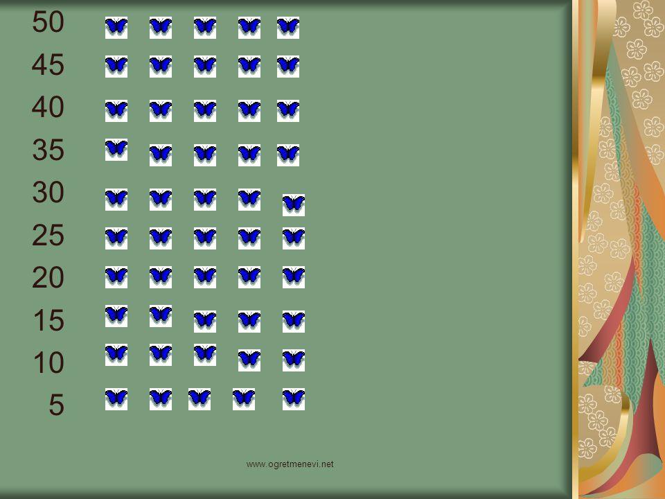 50 45 40 35 30 25 20 15 10 5 www.ogretmenevi.net
