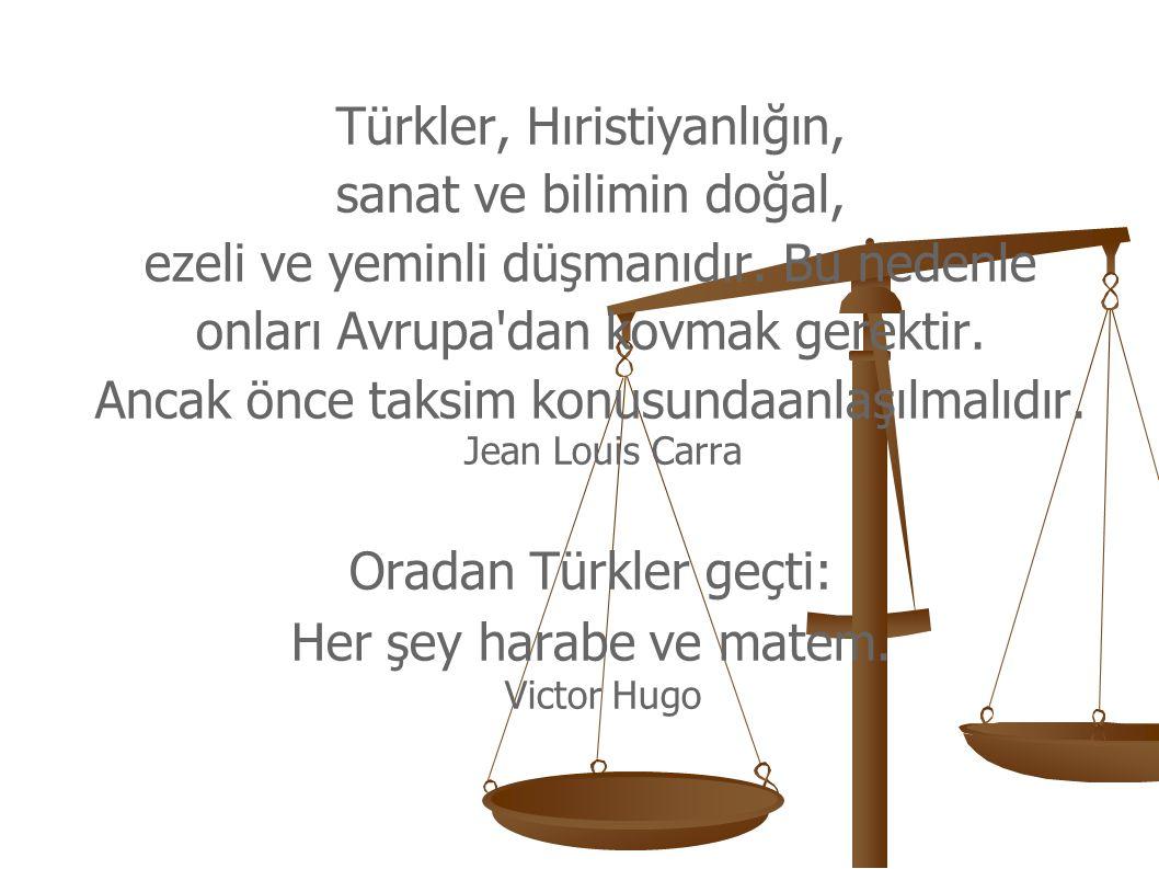 Türkler, Hıristiyanlığın, sanat ve bilimin doğal,
