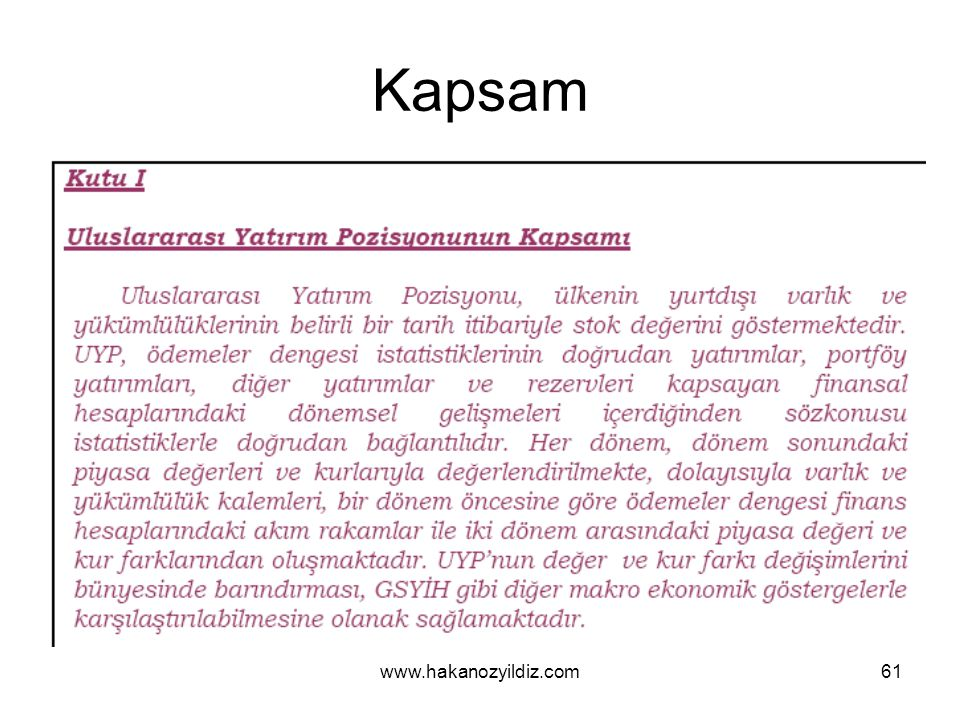 Kapsam www.hakanozyildiz.com