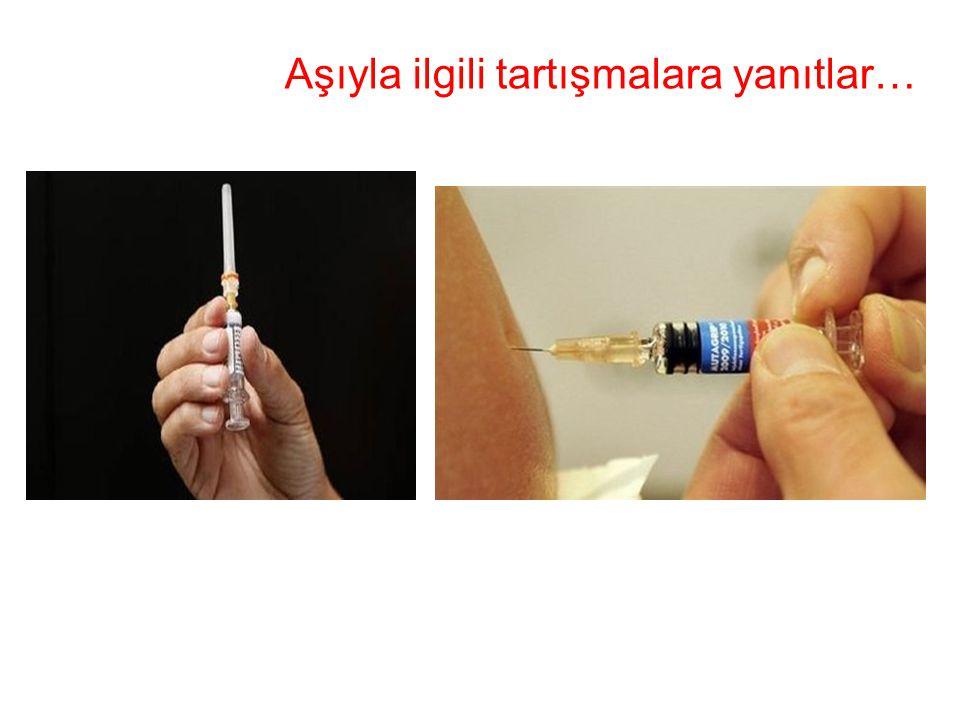Aşıyla ilgili tartışmalara yanıtlar…