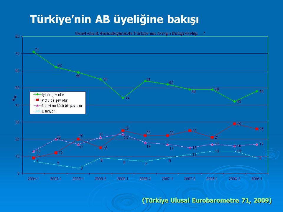 Türkiye'nin AB üyeliğine bakışı