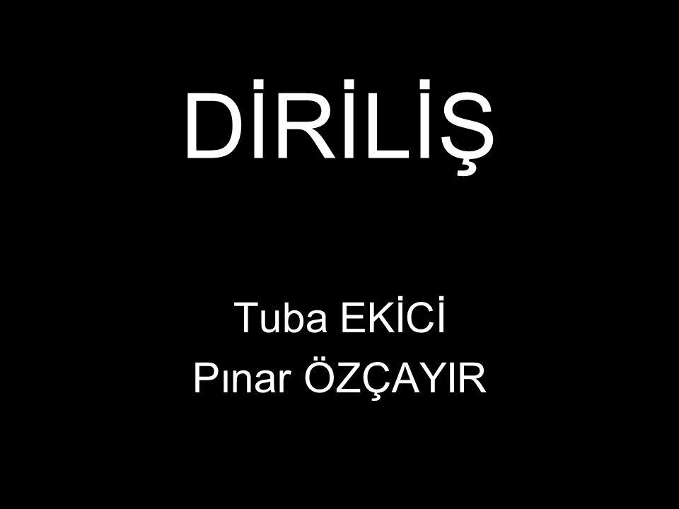 Tuba EKİCİ Pınar ÖZÇAYIR