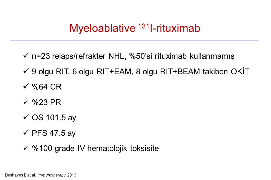 Myeloablative 131I-rituximab