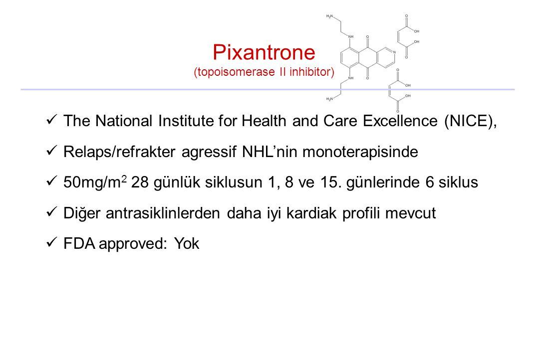 Pixantrone (topoisomerase II inhibitor)