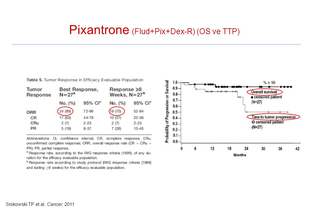 Pixantrone (Flud+Pix+Dex-R) (OS ve TTP)