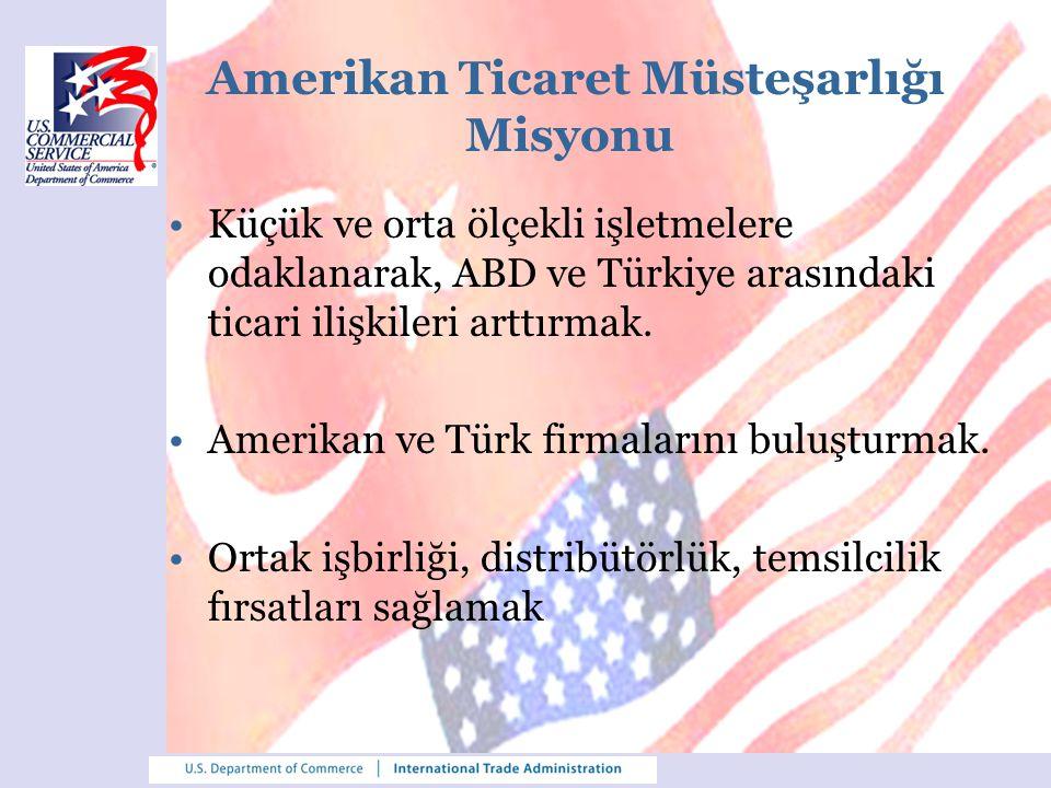 Amerikan Ticaret Müsteşarlığı Misyonu