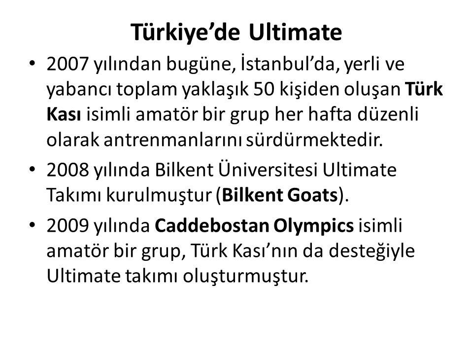 Türkiye'de Ultimate