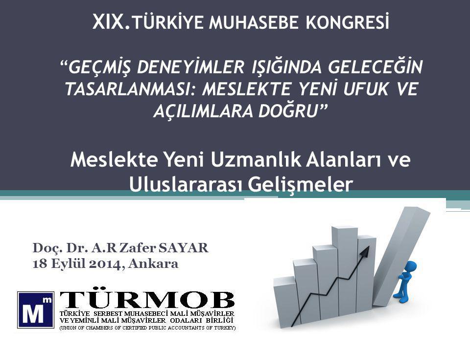 Doç. Dr. A.R Zafer SAYAR 18 Eylül 2014, Ankara