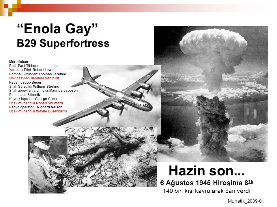 Enola Gay B29 Superfortress