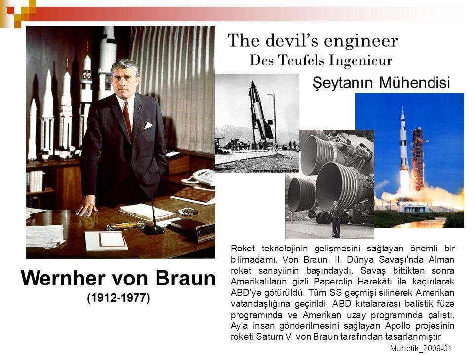 Wernher von Braun The devil's engineer Des Teufels Ingenieur