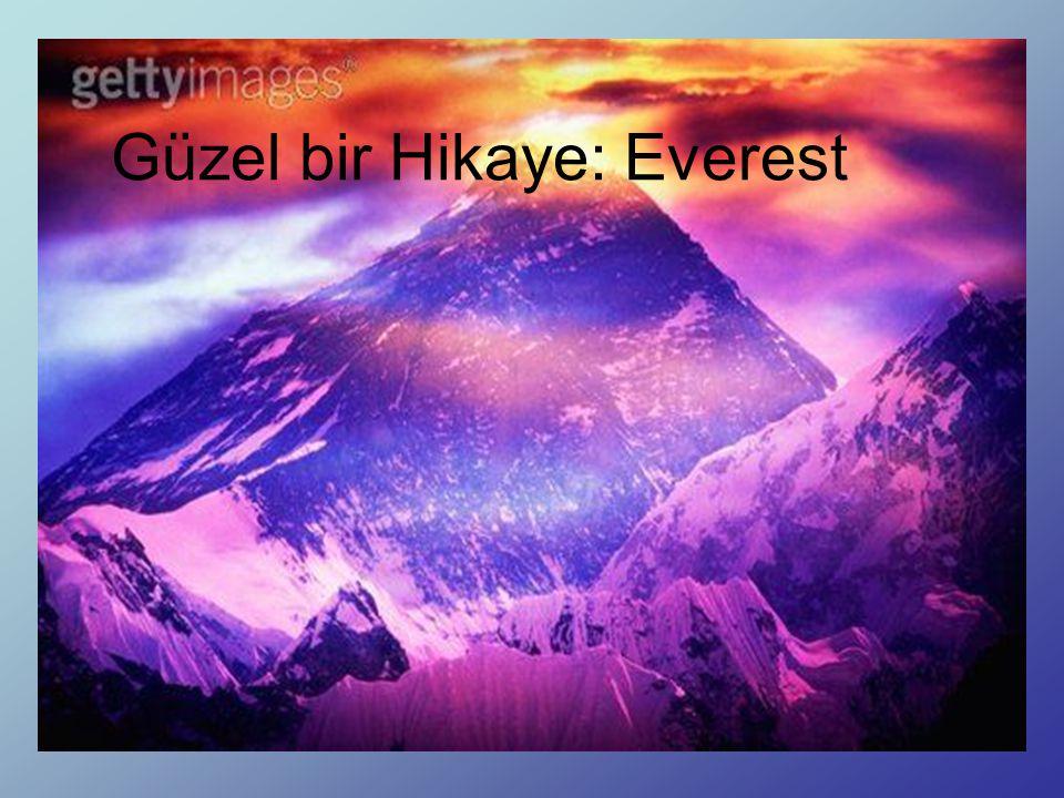 Güzel bir Hikaye: Everest