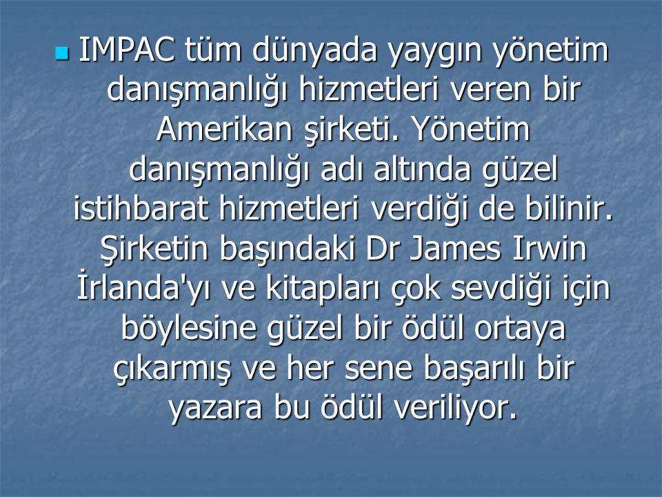 IMPAC tüm dünyada yaygın yönetim danışmanlığı hizmetleri veren bir Amerikan şirketi.