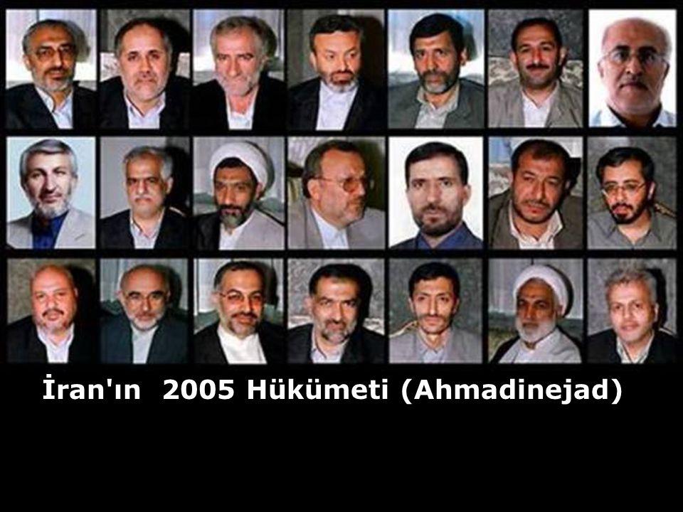 İran ın 2005 Hükümeti (Ahmadinejad)