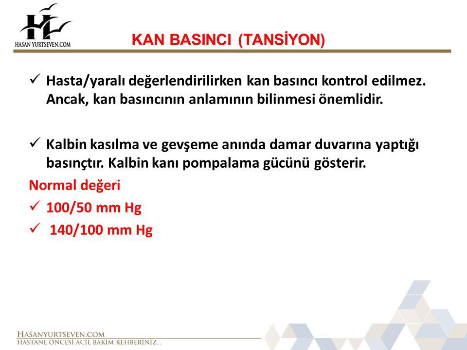 KAN BASINCI (TANSİYON)