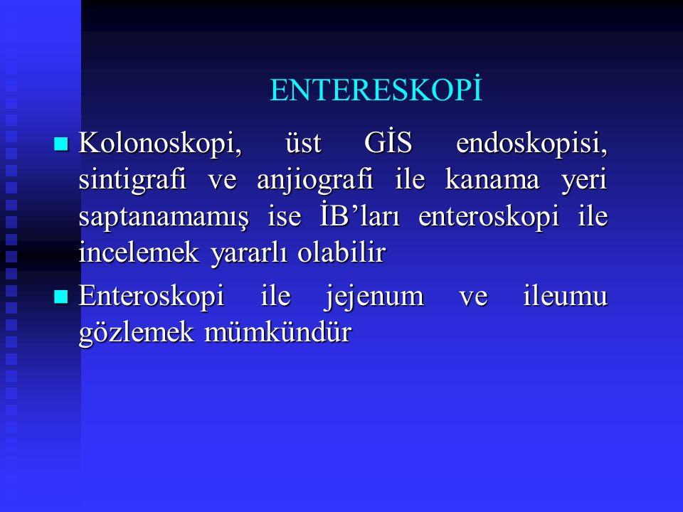 ENTERESKOPİ