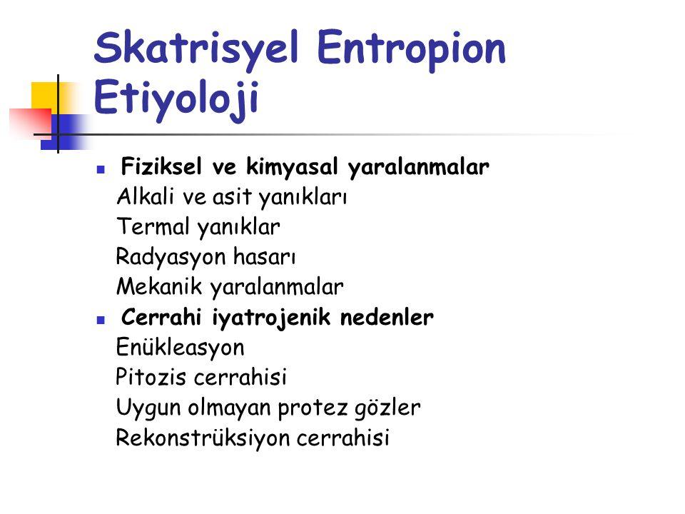 Skatrisyel Entropion Etiyoloji