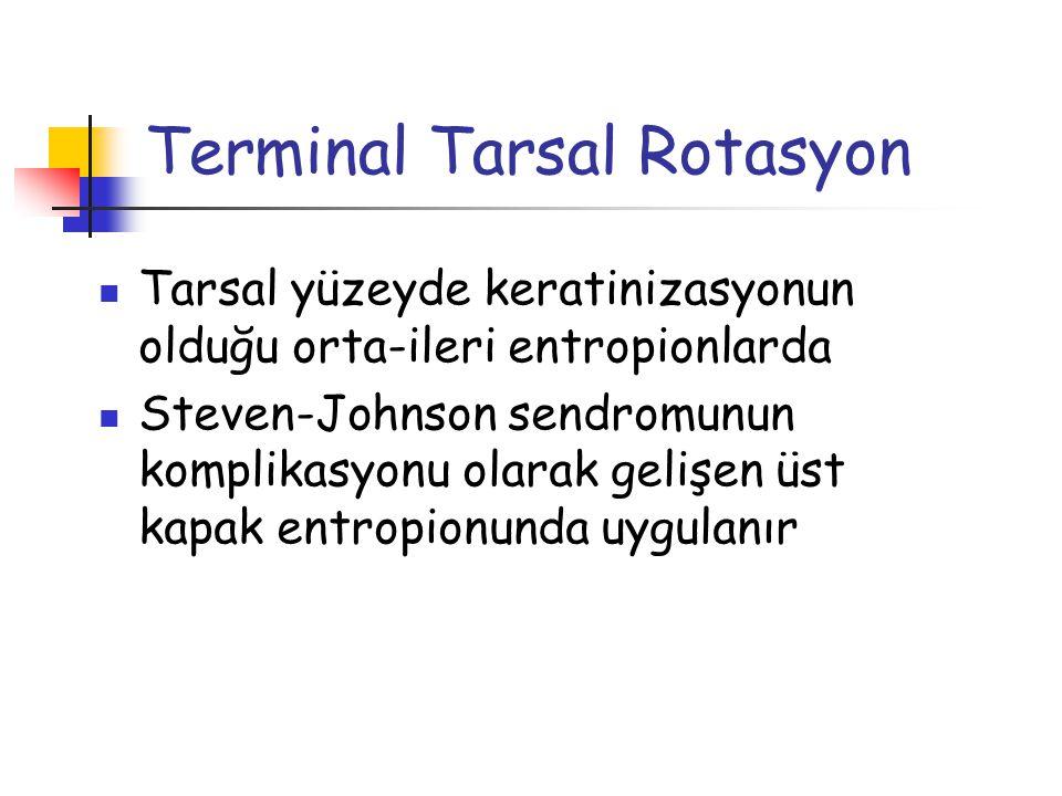 Terminal Tarsal Rotasyon