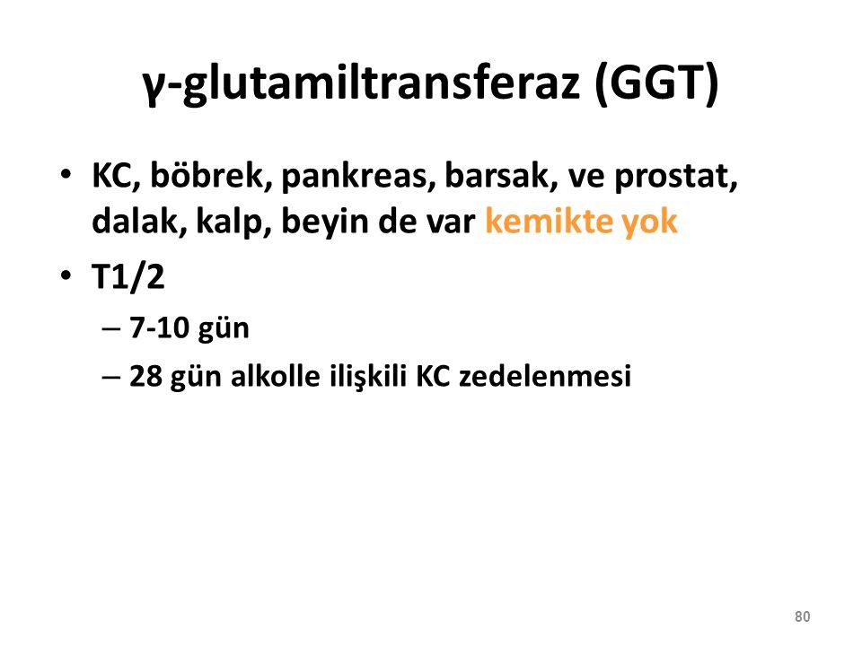 γ-glutamiltransferaz (GGT)