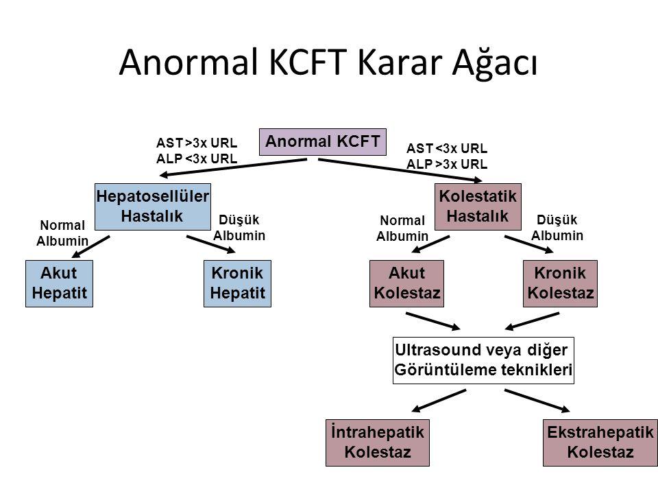 Anormal KCFT Karar Ağacı