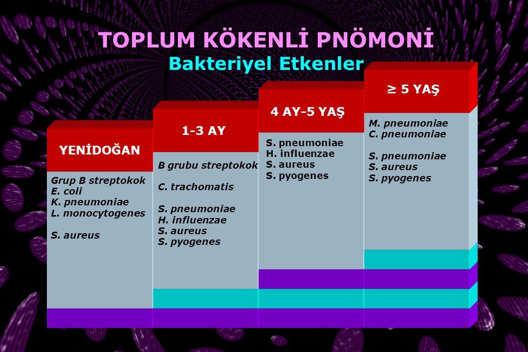 TOPLUM KÖKENLİ PNÖMONİ