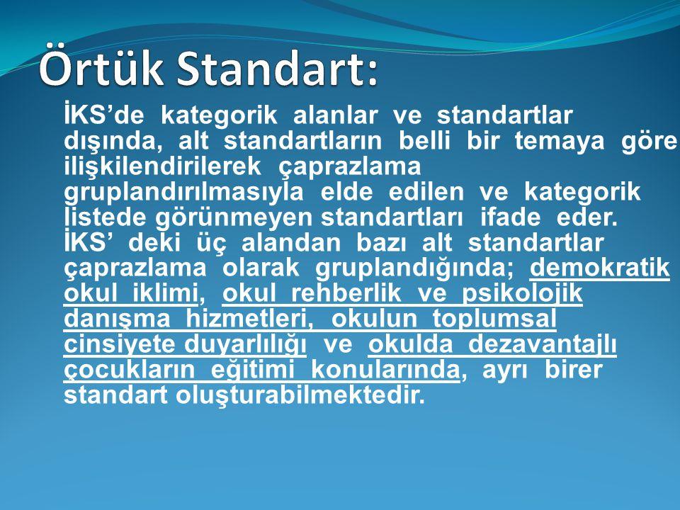 Örtük Standart: