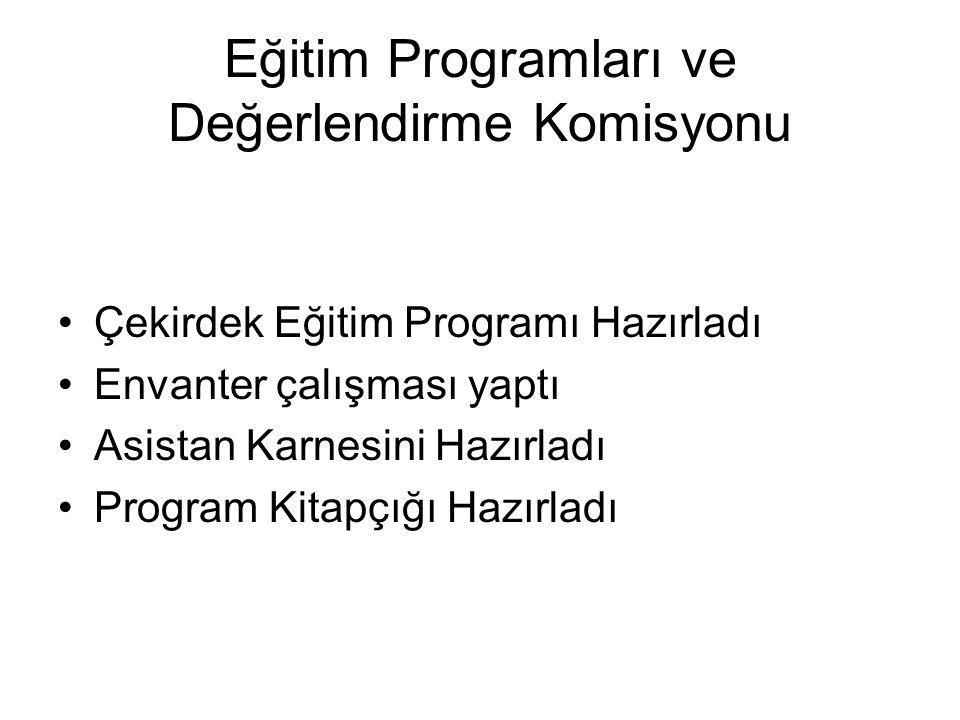 Eğitim Programları ve Değerlendirme Komisyonu