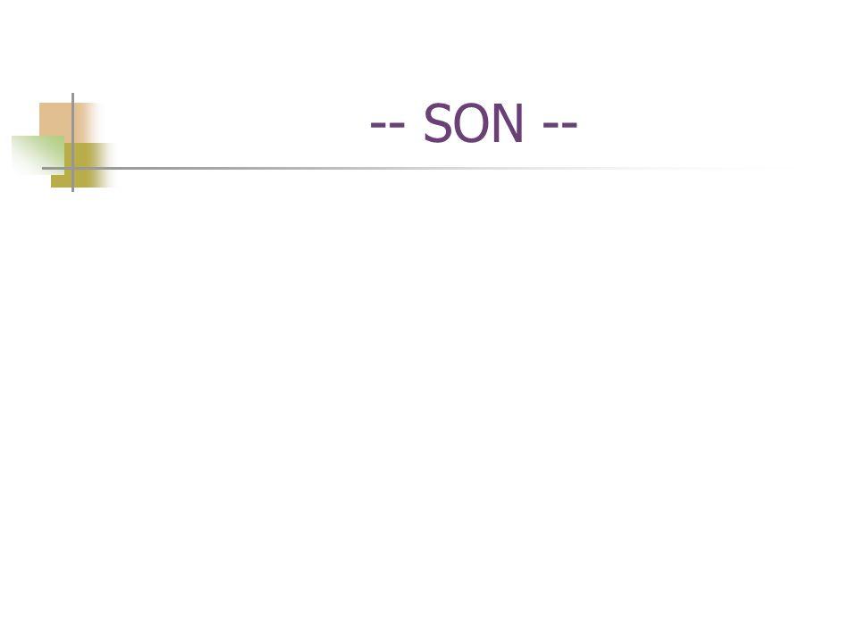 -- SON --