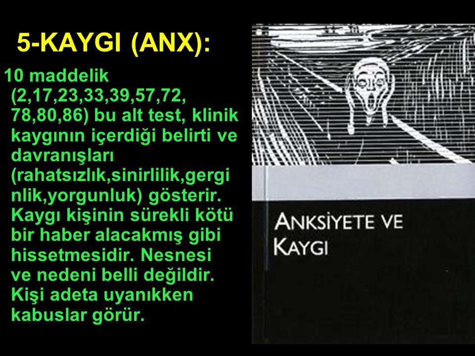 5-KAYGI (ANX):