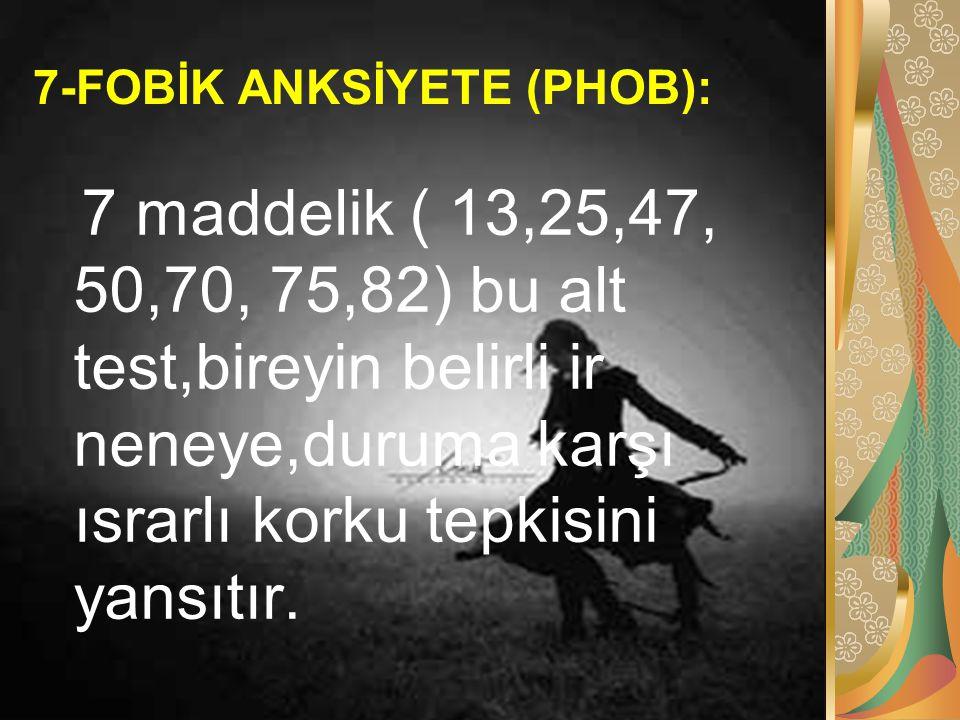 7-FOBİK ANKSİYETE (PHOB):