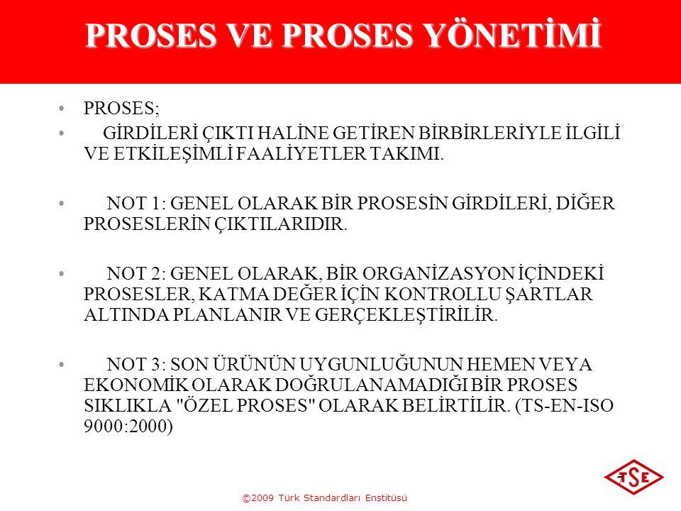 PROSES VE PROSES YÖNETİMİ