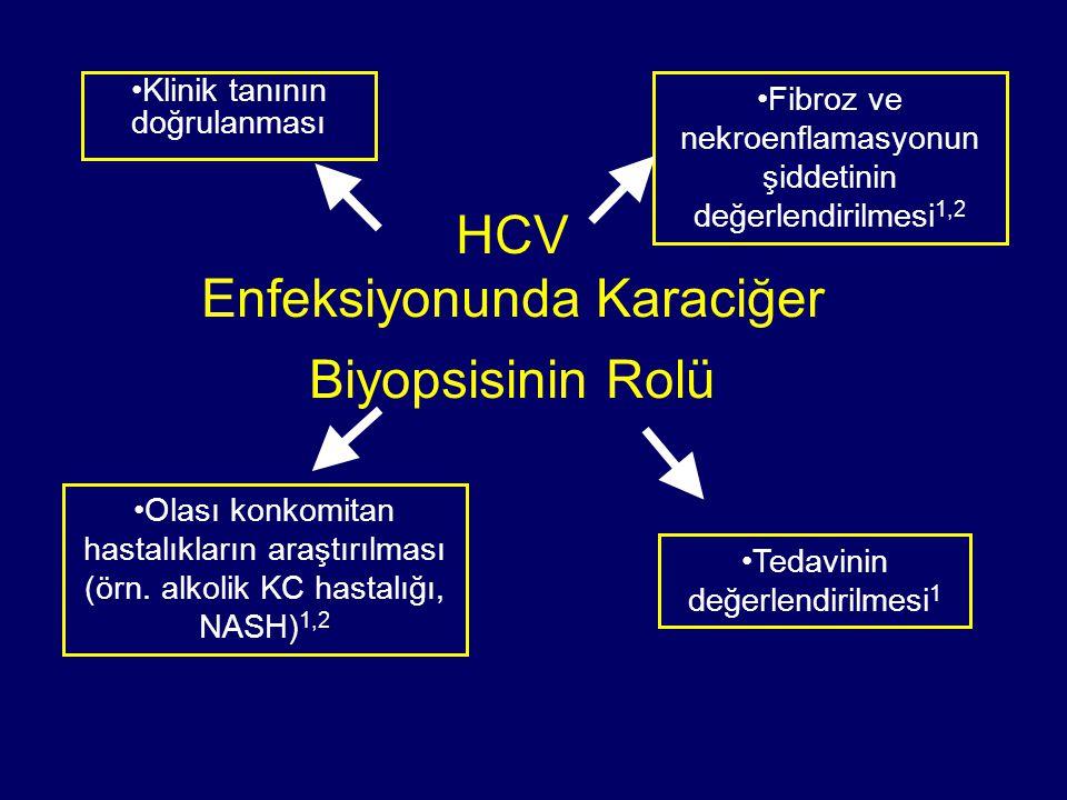 HCV Enfeksiyonunda Karaciğer Biyopsisinin Rolü