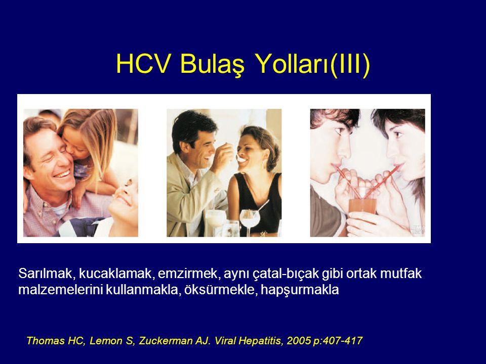 HCV Bulaş Yolları(III)