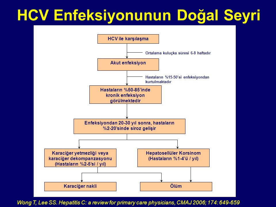 HCV Enfeksiyonunun Doğal Seyri